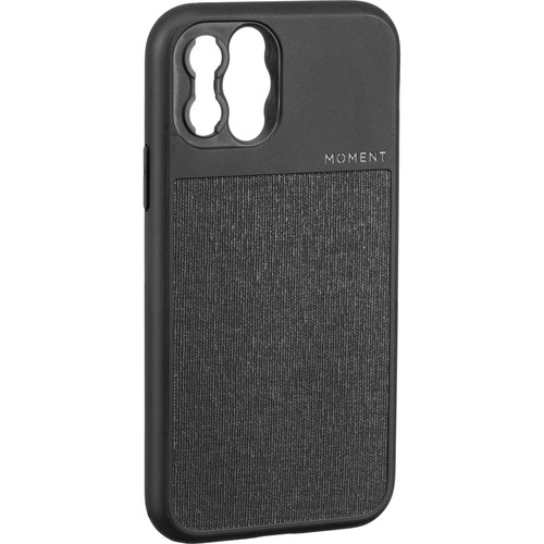 Moment Photo Case for the iPhone 11 Pro (Black Canvas)
