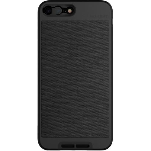Moment Photo Case for iPhone 7 Plus (2017, Black Canvas)