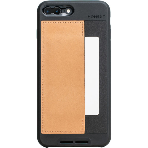 Moment Wallet Case for iPhone 7 Plus and 8 Plus (Natural)