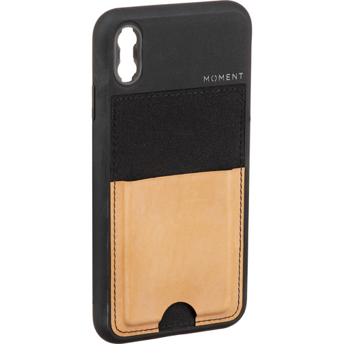 Moment Wallet Case for iPhone XS Max (Natural)
