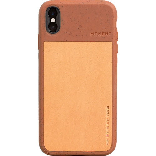 Moment Photo Case for the iPhone XS Max (Terracotta)