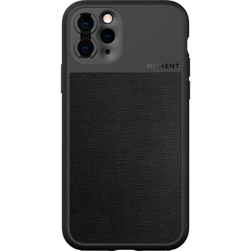 Moment Photo Case for the iPhone 11 Pro Max (Black Canvas)