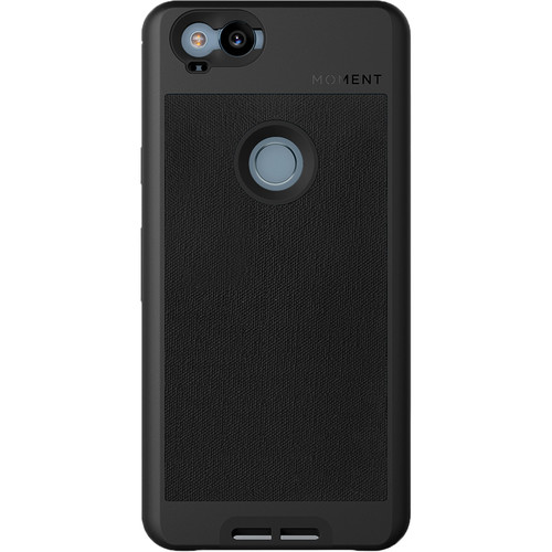 Moment Photo Case for Google Pixel 2 (2017, Black Canvas)