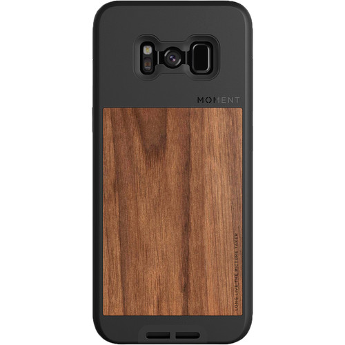 Moment Photo Case for Galaxy S8 (Walnut)