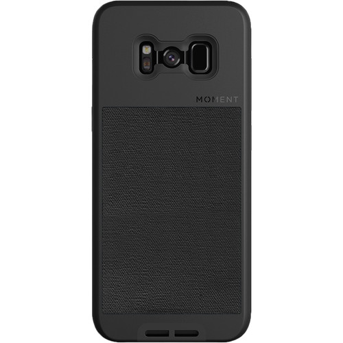 Moment Photo Case for Galaxy S8 (2017, Black Canvas)