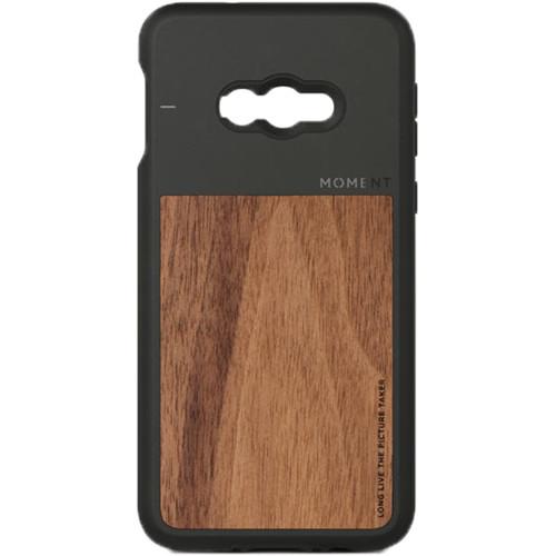 Moment Photo Case for Samsung Galaxy S10e (Walnut Wood)