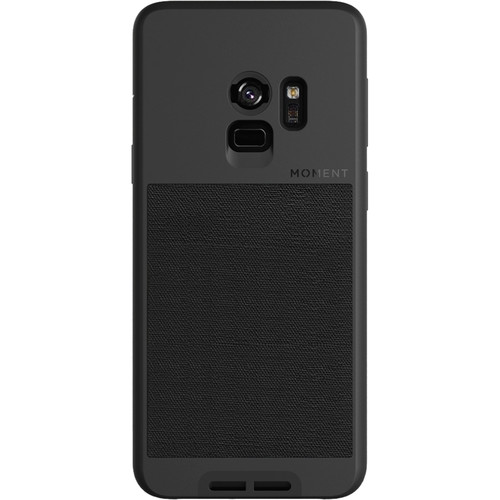 Moment Photo Case for Samsung Galaxy S9 (Black Canvas)