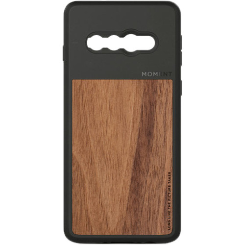 Moment Photo Case for Samsung Galaxy S10 (Walnut Wood)