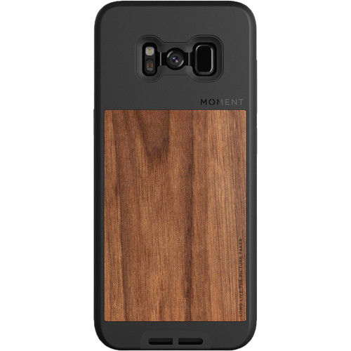 Moment Photo Case for Galaxy S8+ (Walnut)