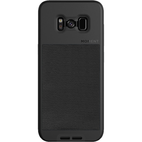 Moment Photo Case for Galaxy S8+ (2017, Black Canvas)