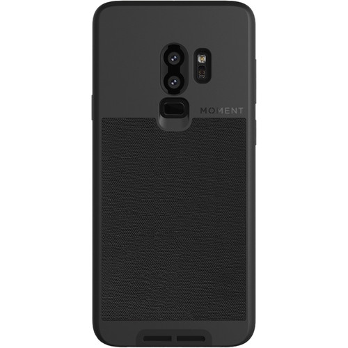 Moment Photo Case for Samsung Galaxy S9+ (Black Canvas)