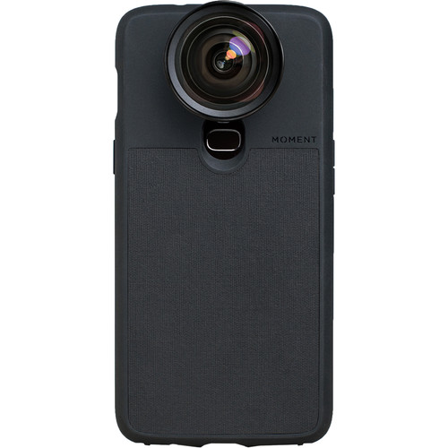 Moment Photo Case for the OnePlus 6 (Black Canvas)
