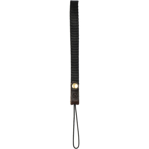 Moment Nylon Wrist Strap (Black/Dark Brown)