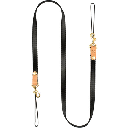 Moment Nylon Neck Strap (Black/Natural)