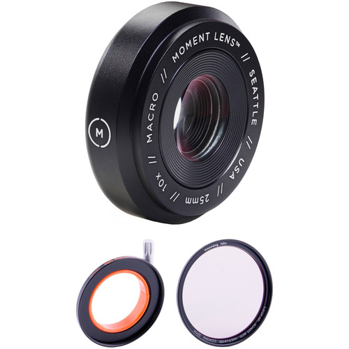 Moment Macro Lens with 2-Stop Neutral Density Filter Kit