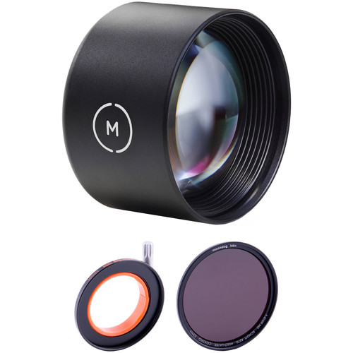 Moment Tele Lens with 4-Stop Neutral Density Filter Kit
