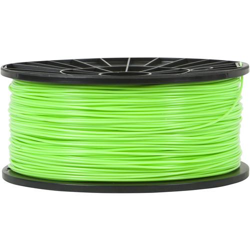 Monoprice 3mm PLA Filament (1 kg, Bright Green)
