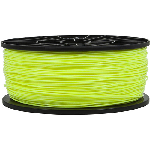 Monoprice 1.75mm ABS Filament (1 kg, Fluorescent Yellow)