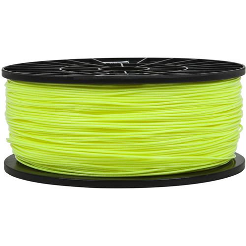 Monoprice 1.75mm PLA Filament (1 kg, Fluorescent Yellow)