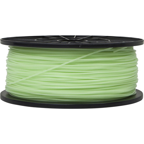 Monoprice 1.75mm PLA Filament (1 kg, Glow-in-the-Dark Green)