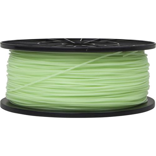 Monoprice 1.75mm PLA Filament (1 kg, Glow-in-the-Dark Green)