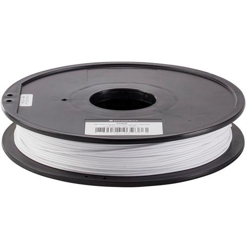 Monoprice Select 1.75mm PLA Plus+ Filament (500 g, White)
