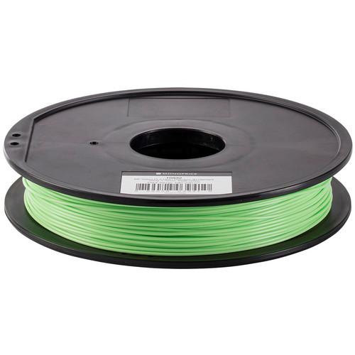Monoprice MP Select PLA Plus+ Premium 3D Filament 0.5kg 1.75mm (Peak Green)