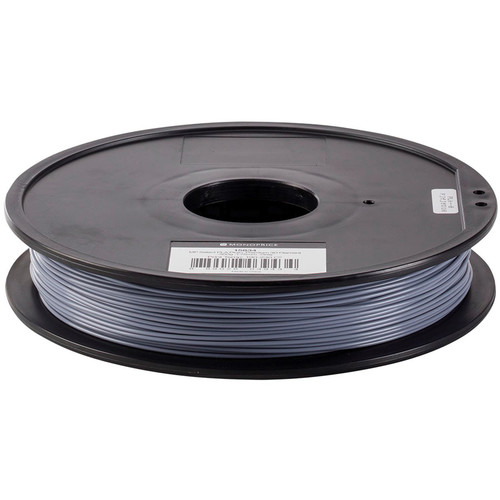 Monoprice Select 1.75mm PLA Plus+ Filament (500 g, Gray)