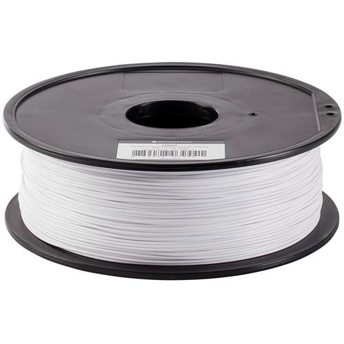 Monoprice Select 1.75mm PLA Plus+ Filament (1 kg, White)