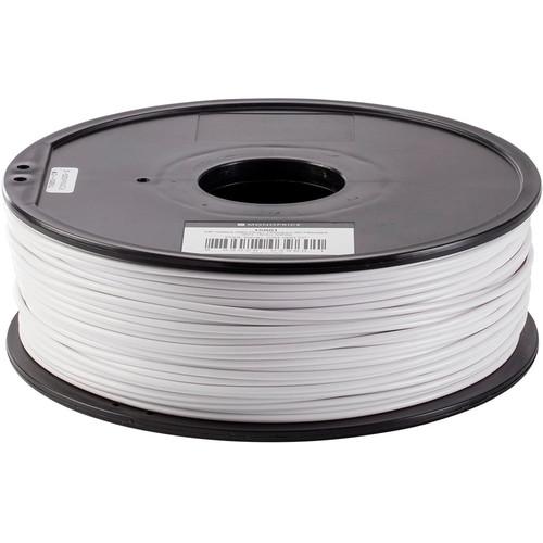 Monoprice Select 3mm ABS Plus+ Filament (1 kg, White)