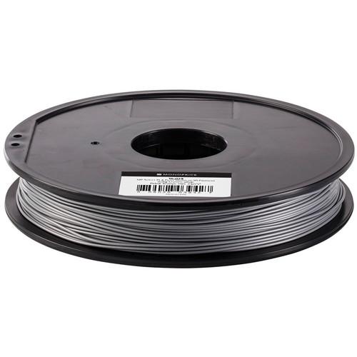 Monoprice Select 1.75mm PLA Plus+ Filament (500 g, Silver)
