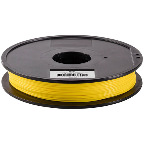 Monoprice Select 1.75mm ABS Plus+ Filament (500 g, Yellow)