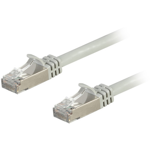 Monoprice Entegrade Cat7 S/FTP Double-Shielded Ethernet Patch Cable (25', Gray)