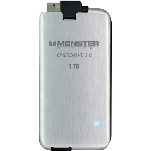Monster Digital OverDrive 3.0 1TB USB External Solid State Drive