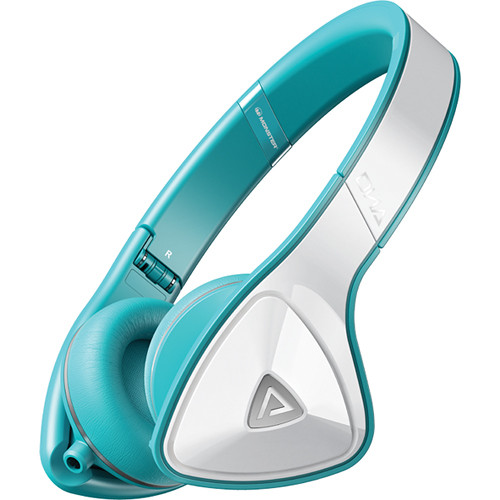 Monster DNA On-Ear Headphones - (White and Teal)