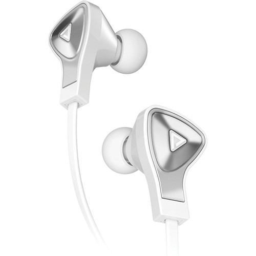 Monster DNA In-Ear Headphones (White With Chrome)