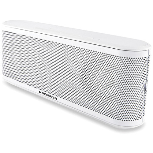 Monster ClarityHD Micro Bluetooth Speaker (White)