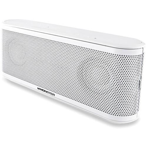 Monster Power ClarityHD Micro Bluetooth Speaker (White)