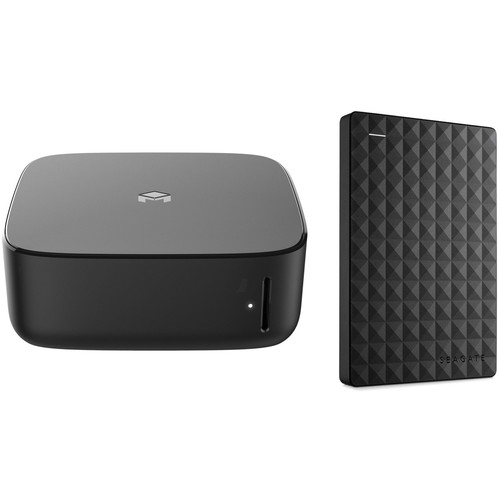 Monument Labs Personal Cloud Server with Gigabit Ethernet, Wi-Fi, and Seagate 1TB USB 3.0 Hard Drive