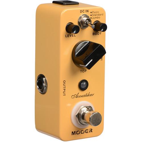 MOOER Micro Series Acoustikar Acoustic Guitar Simulator Pedal