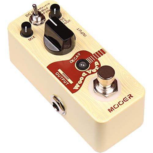 MOOER Woodverb Acoustic Guitar Reverb Pedal