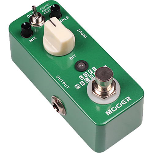 MOOER Micro Series Lofi Machine Bit Crusher Effect Pedal