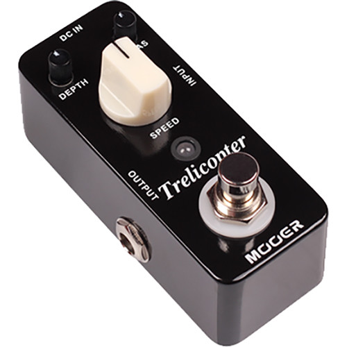 MOOER Micro Series Trelicopter Optical Tremolo Pedal