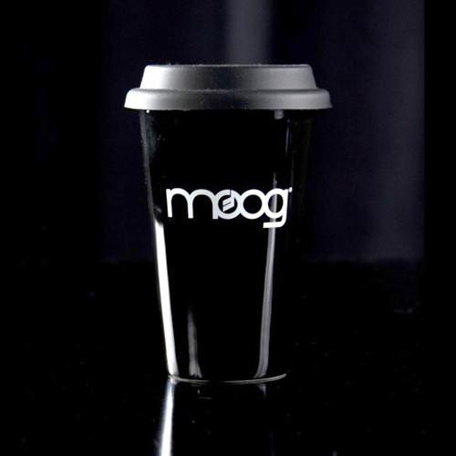 Moog Black Travel Mug with Lid