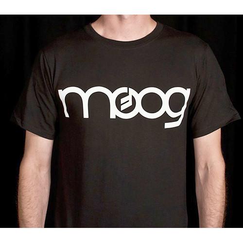 Moog Classic Black Logo T-Shirt (Large)