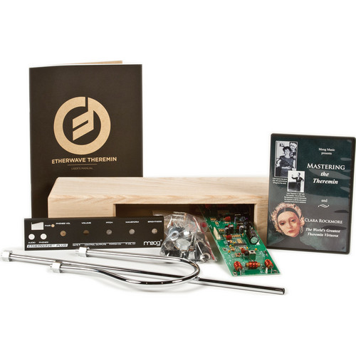 Moog Etherwave Plus Theremin Kit with 110V Power Supply