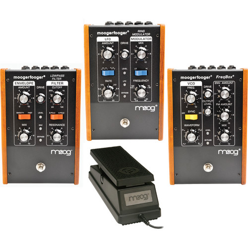 Moog Moogerfooger All-in-One with MF-101, MF-102 & MF-107 (Black)