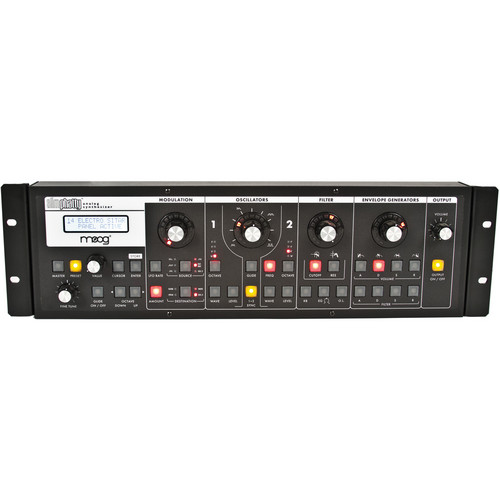 Moog Slim Phatty Rack Ears (Black)