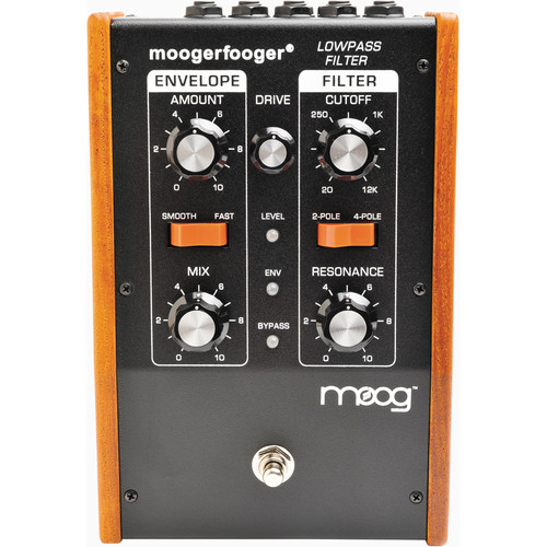 Moog Moogerfooger MF-101 Low-Pass Filter (Black)