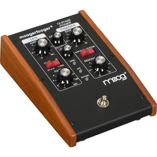 Moog Moogerfooger MF-103 12-Stage Phaser (Black)